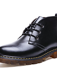 British Men Genuine Leather Boots Oxford Boots