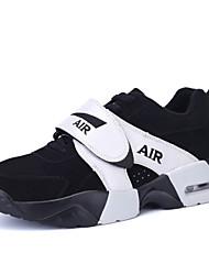 Sapatos Fitness Feminino / Masculino Preto Courino