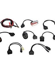 cdp venta caliente completo conjunto de 8 cables del coche cdp +