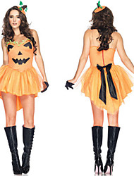 Pumpkin Witch Costume Witch Cosplay Costume Tuxedo Vampire Halloween Party Uniforms