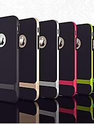 Для Кейс для iPhone 6 / Кейс для iPhone 6 Plus Защита от удара / Ультратонкий Кейс для Задняя крышка Кейс для Армированный Твердый PC