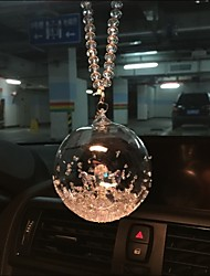 Star Crystal Ornaments Classic  Car Pendant Edition Ornament Mirror Pendant Hanging Angel Luck Ball