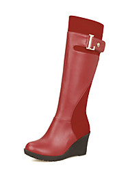 Women's Shoes   Wedges / Fashion Boots Boots Outdoor / Office & Career / Casual Wedge Heel OthersBlack /