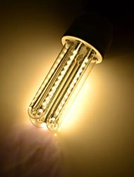 7 E26/E27 Bombillas LED de Mazorca T 66 SMD 3014 650 lm Blanco Cálido Decorativa AC 85-265 / AC 100-240 / AC 110-130 V 4 piezas