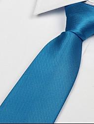 See blauen Polyesterseide Freizeit Pfeil Jacquard Männer Twill-Riegel-Krawatte