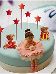 Little Star 2 Pens Candles European Style Holiday / Music Modern/ Romantic Wedding