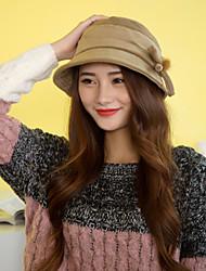 Winter Women Casual Tweed Fedora Hat LZ00059