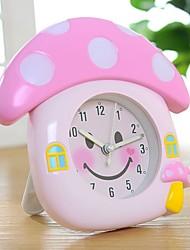 RT Lovely Smile Mushroom House Alarm Clock