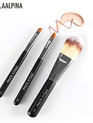 Stellaalpina 3 Sets Of Eye Shadow Brush Foundation Brush Lip Gloss MAC Makeup Style