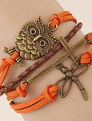 Bracelet Charme Alliage / Corde Sans pierre Femme