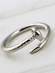 Ring Daily / Casual / Sports Jewelry Alloy Women Statement Rings 1pc,8 Gold / Silver