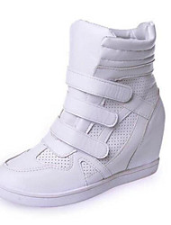 Women's Shoes Upper Flat with Increased High-Top Casual Fashion within Casual Shoes