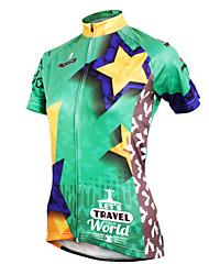 PALADIN Bicicleta/Ciclismo Camiseta/Maillot / Tops Mujer Mangas cortasTranspirable / Resistente a los UV / Secado rápido / Materiales