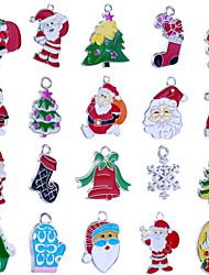 Cartoon Exquisite Christmas Ornaments (Random Hair)