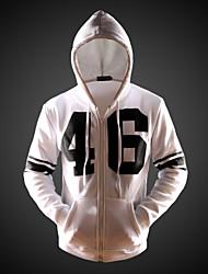 Men's Hoodie Sweats & Hoodies , Cotton / Cotton Blend Long Sleeve Casual Fashion Winter / Spring / Fall NEWJOGAL