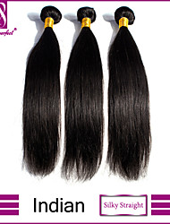 Indian virgin hair straight Indian straight hair 3pcs 8''-30'' straight human virgin hair