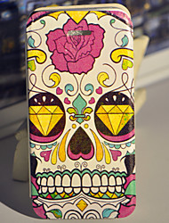 Party for the Skulls PU Leather Case with Screen Protector and USB Cable and Stylus for iPhone 5/5S