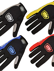 Glove Cycling / Bike Women's / Men's Full-finger GlovesAnti-skidding / Keep Warm / Waterproof /Antistatic / Touch Gloves
