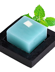 ALL BLUE High Quality Skin Whitening Soap Hot Style Peppermint Essential Oil Soaps Clean Skin Facial Soap