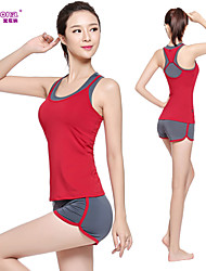 Vangona® Yoga Clothing Sets/Suits Yoga Pants + Yoga Tops Breathable / Lightweight Materials Stretchy Sports Wear