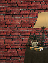 Geométrica Papel pintado Retro Revestimiento de pared,PVC/Vinilo Sí