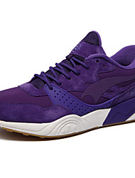 Women's Running Shoes Leather Purple