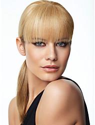 novo cabelo franja vértice estilo natural do cabelo bangs bangs clipe extensão do cabelo peruca menina