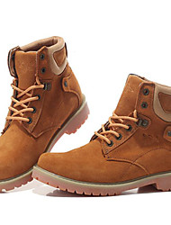 Men's Shoes Outdoor / Office & Career / Work & Duty / Athletic / Dress / Casual Suede Boots Blue / Yellow