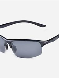 Ciclismo / Pesca / Gafas de visión nocturna / Máscara Protectora hombres 's Polarizada / 100% UV Rectángulo Gafas de Deportes