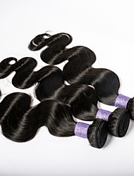 Christmas Sale Malaysian Virgin Hair Body Wave 7A Human Hair Extension 3Bundles/lot Full Length Virgin Hair Tangle Free