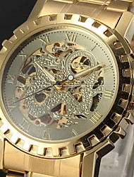 Men's Watch Auto-Mechanical Skeleton Hollow Engraving