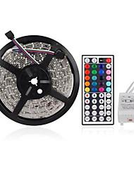 Водонепроницаемая, светодиодная лента с пультом дистанционного управления с 44 ключами (12В), 5M 300X3528 SMD RGB