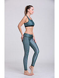 Running Bra / Pants / Clothing Sets/Suits / Bottoms Women's Sleeveless Lightweight Materials / Sweat-wicking Polyester / TeryleneYoga /