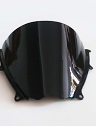 Black Motorcycle Windshield Wind Screen for Suzuki GSXR1000 GSXR 1000 2007 2008 Brand New