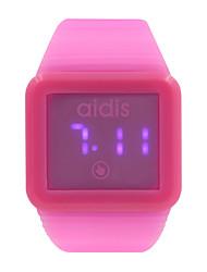 Ultra-Thin Led Touch Screen Watch Digital Watch Waterproof Couples Watch Jelly Watch Fashion Watches