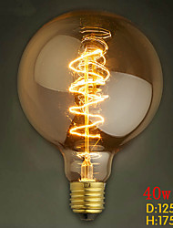 G125 wire around 40W bulb edison bulbs Bar Pearl tungsten bulb Edison light bulb retro decoration