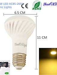 YouOKLight® 1PCS E27 9W  800lm 3500K Warm Light 18-SMD5730 LED High quality Ceramic Spot Lights (AC 85-265V)