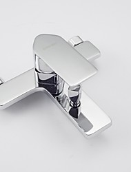 Contemporary  Bathtub Faucet / Shower Faucet  with Chrome Finish