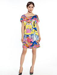 Women's Personality Printing Summer Dress