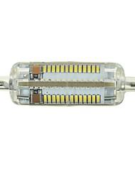 Marsing® R7S 7W 700lm 6500K 104-SMD 3014 LED Cool White Light Bulb Lamp (AC 220-240V)