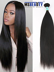 "1Pc /Lot 12""-30""5A Peruvian Virgin Hair Straight Human Hair Extensions 100% Unprocessed Peruvian Remy Hair Weaves"