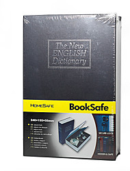 LYGF KFK240  English Dictionary  Secret Book Hidden Safe with Key Lock  medium