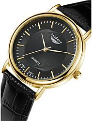 Men's Fashion Casual Genuine Leather With Zircon Quartz Watches Wrist Watch Cool Watch Unique Watch