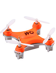 The World's Smallest UAV WQ-100 MINI RC Quadcopter 2.4G 4CH 6-Axis Helicopters CX-10 Upgrade Remote Control Toys