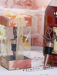 Canadian leaf Wine Bottle Stopper Wedding Souvenirs