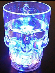 LYGF   LED lighting Skull Cup 400ML, Creative Fashionable Gifts Toys