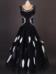 Robes(Noire,Elasthanne,Danse moderne / Danse de Salon)Danse moderne / Danse de Salon- pourFemme