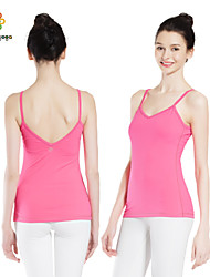 Yoga Tops Breathable / Wearable / Wicking Stretchy Sports Wear Yoga Women's