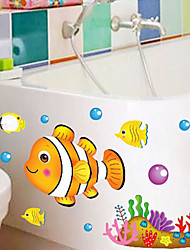 Marine Fish European Children's Room Stickers Wall