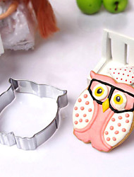 Durable Stainless Steel Owl Mould Cookie Cutter Cake Baking Mould Biscuit DIY Eggs Tool